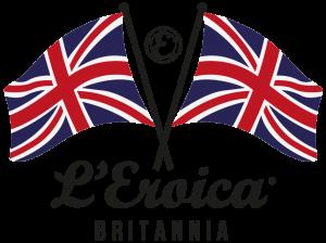 L'Eroica Britannia flag logo