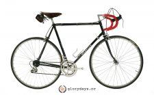 Mercian black bicycle