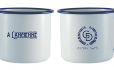 Tin coffee mug