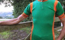 Santini cycling jersey