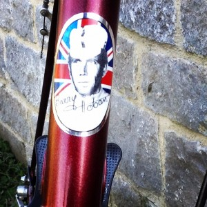 Barry Hoban head badge decal