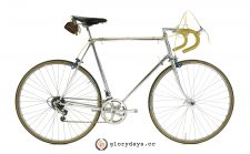 Raleigh chrome bicycle