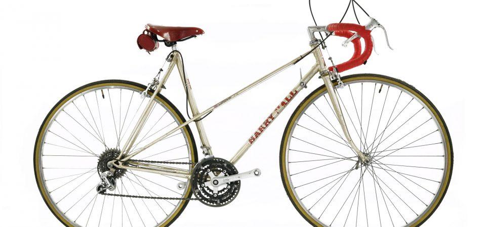 Harry Hall vintage bicycle