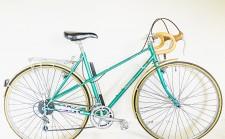 Dawes Galaxy green retro bicycle