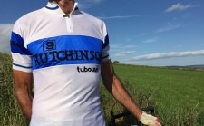 Santini retro cycling jersey