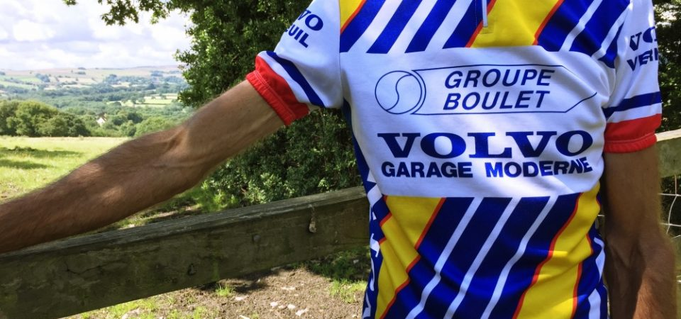 Decoux Sport retro cycling jersey