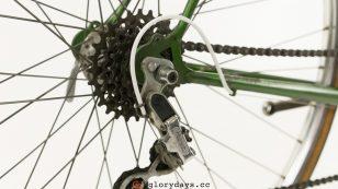 Dawes Galaxy rear wheel